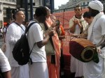 Hare Krishnas at Oxford Circus