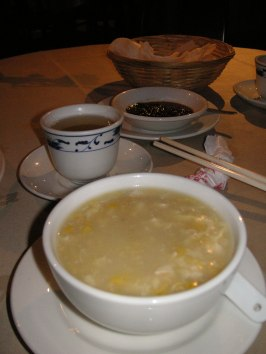 Chicken & sweet corn soup - my everlasting favourite