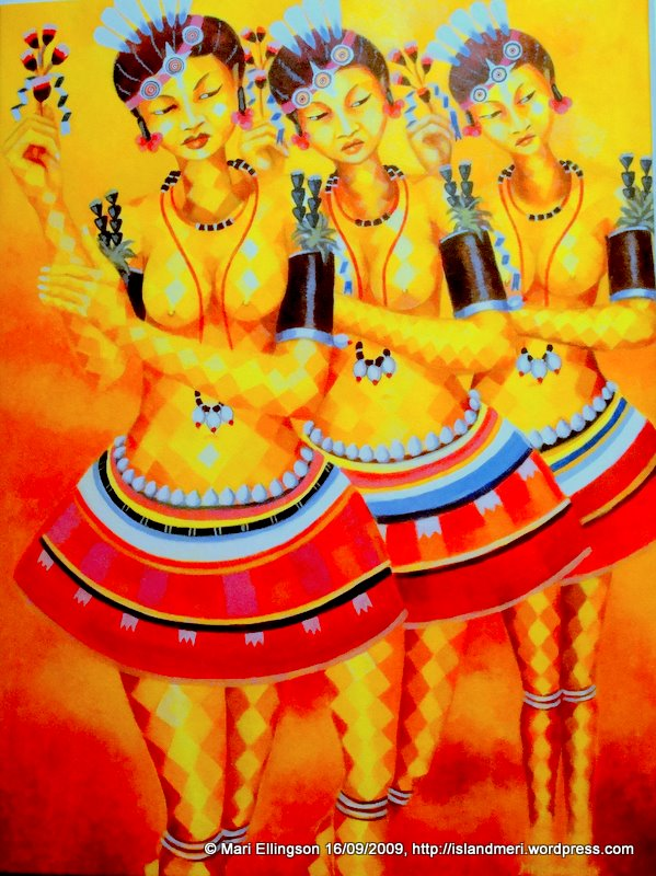 Tapioca Dancers by Martin Morububuna (Painter)