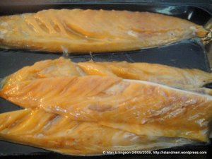 Smoked mackeral - great for salads and my fish risotto