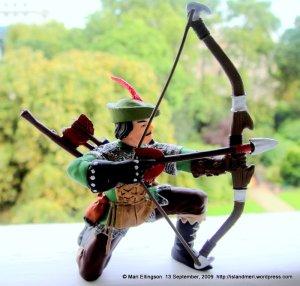 My souvenir Robin Hood...