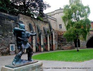 Immortalised in metal sculpture