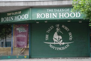 Tales of Robin Hood...the museum